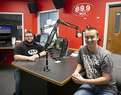 Spotlight Student Nathan and Tanner WLCA 89.9